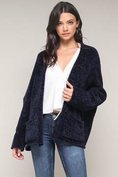Shoptiques Product: Soft Chenille Cardigan