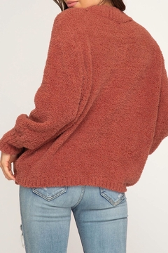 LuLu's Boutique Soft Chenille Sweater - Alternate List Image