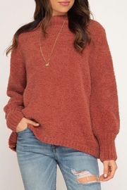 LuLu's Boutique Soft Chenille Sweater - Product Mini Image