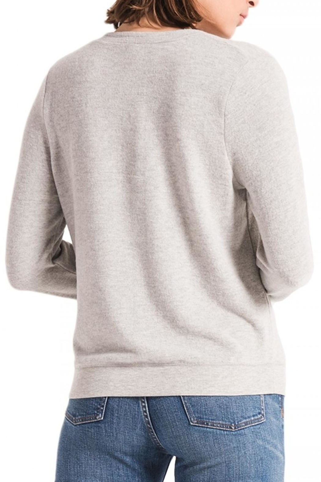 z supply Soft Crossfront Top - Side Cropped Image
