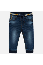 Mayoral Soft Denim Joggers - Product Mini Image