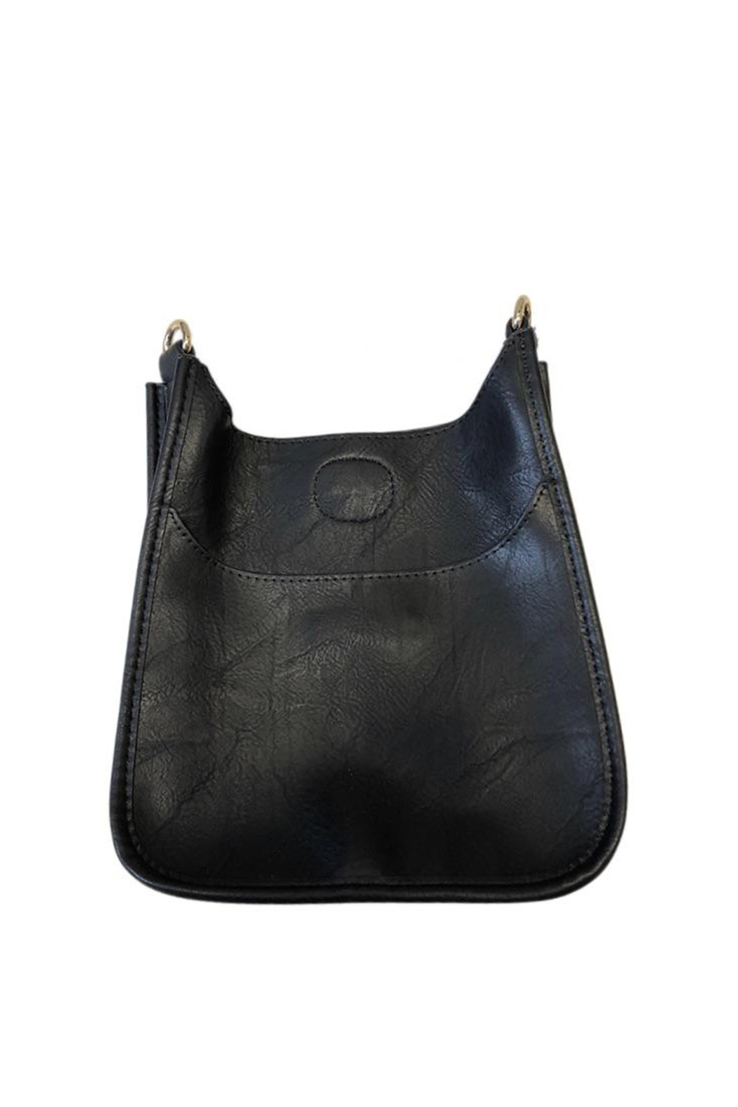 Ah!dorned Soft Faux Leather Messenger - Strap not included - Front Cropped Image
