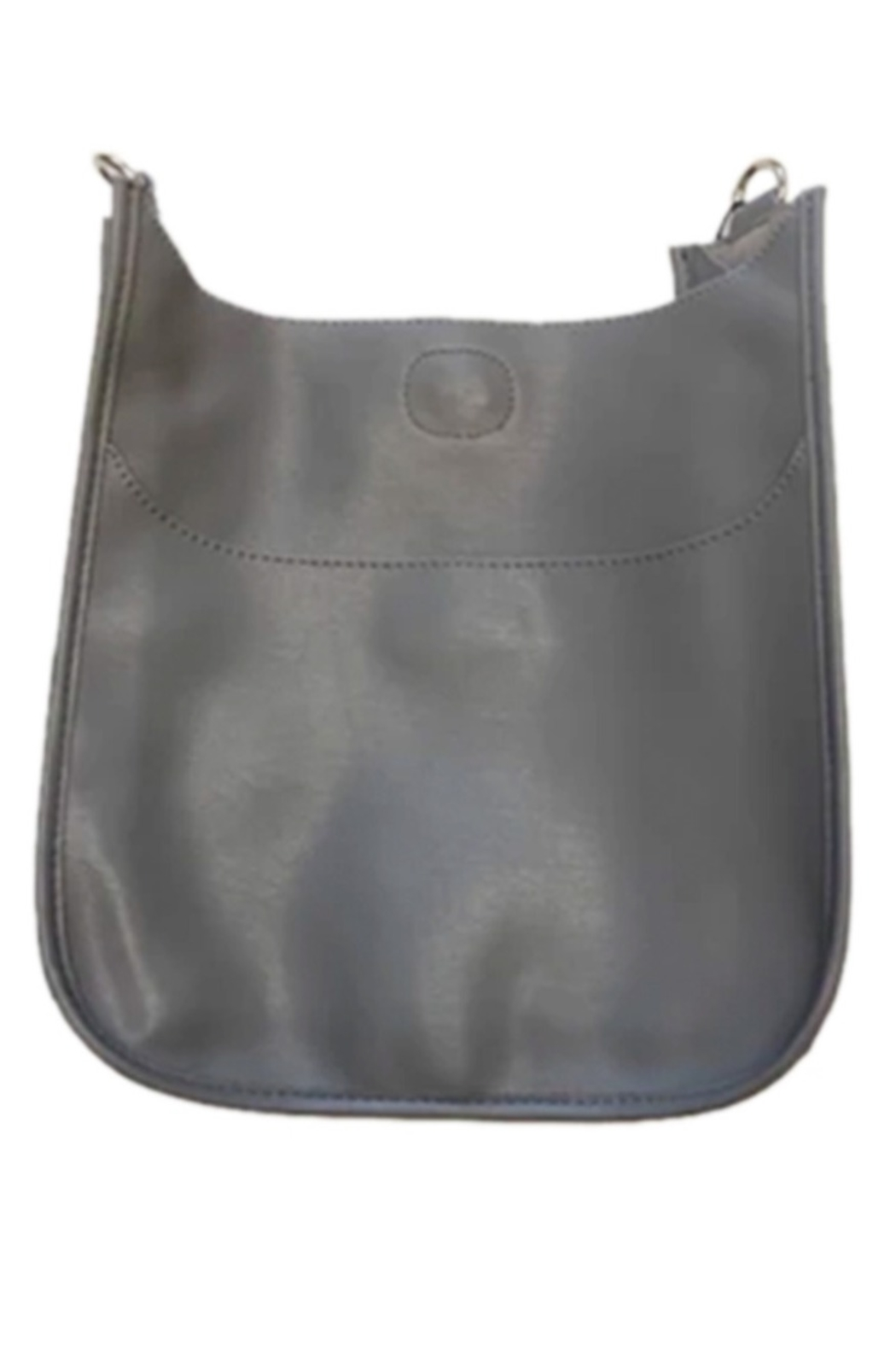 Ahdorned Soft Faux Leather Messenger - Strap not included - Main Image