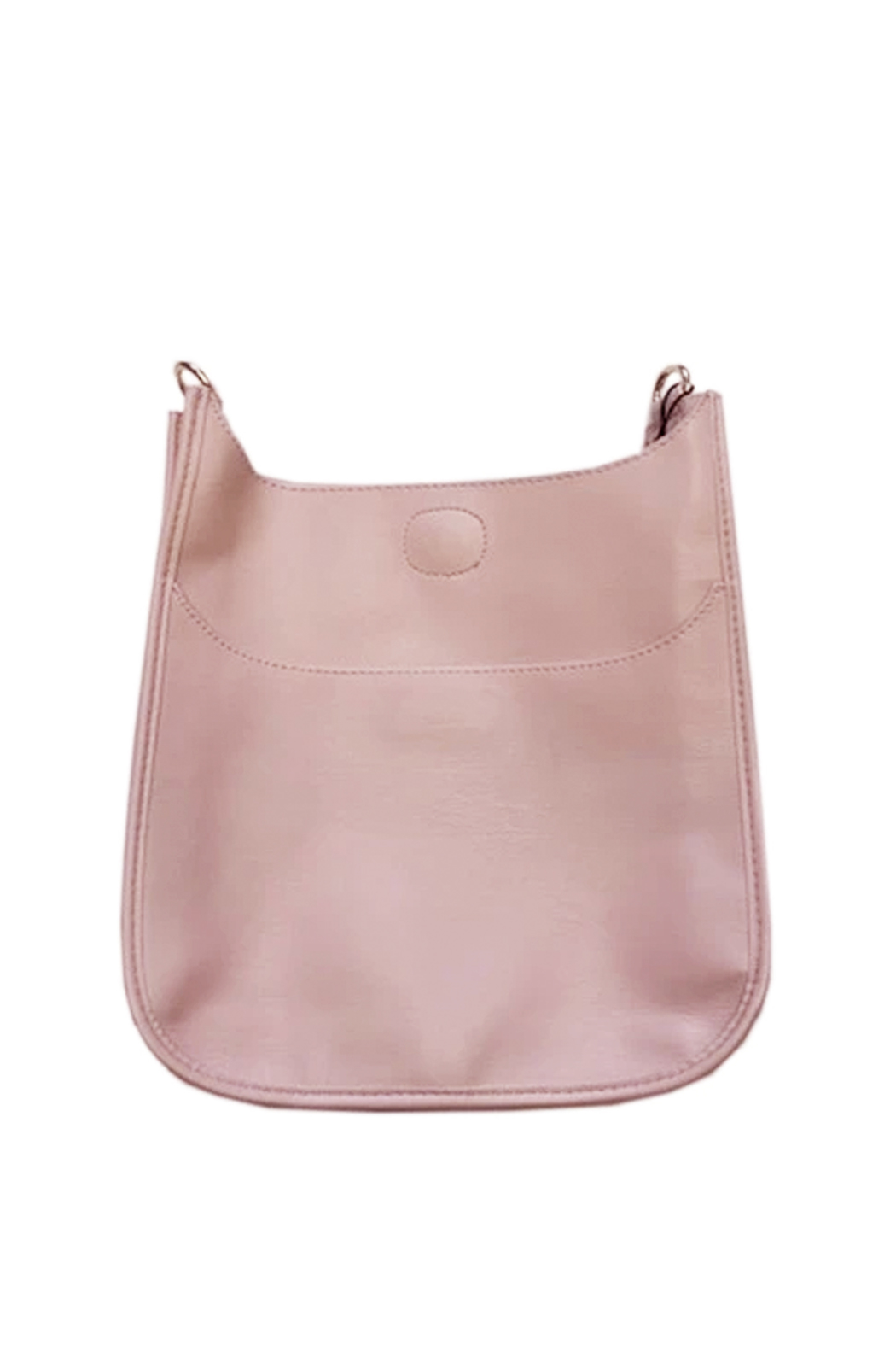 Ah!dorned Soft Faux Leather Messenger - Strap not included - Main Image