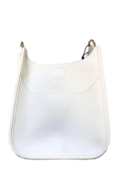 Ahdorned Soft Faux Leather Messenger - Strap not included - Front cropped