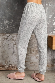 143 Story Soft Feel Snake Print Jogger - Side cropped