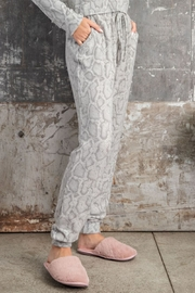 143 Story Soft Feel Snake Print Jogger - Front full body
