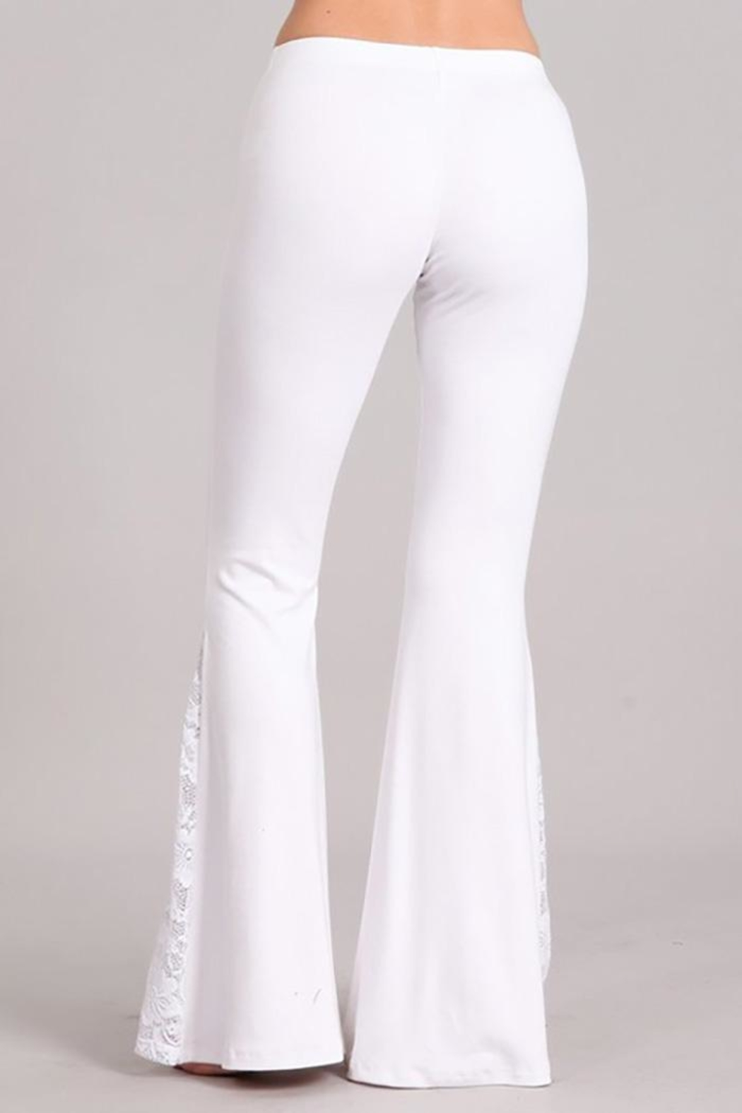 Chatoyant  Soft Flared-Bell Pants - Front Full Image