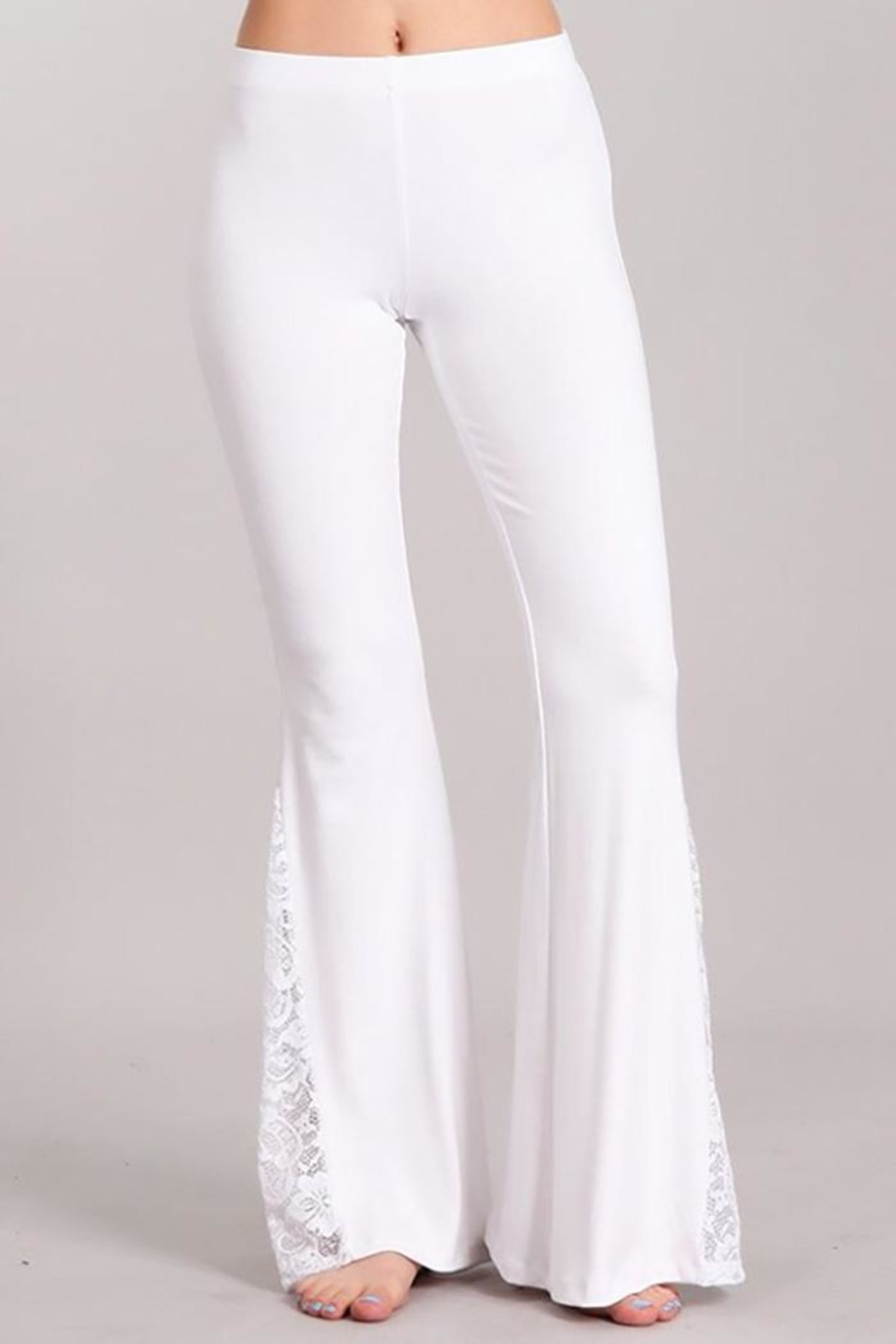 Chatoyant  Soft Flared-Bell Pants - Main Image