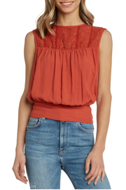 Willow & Clay Soft gauzy top - Product Mini Image