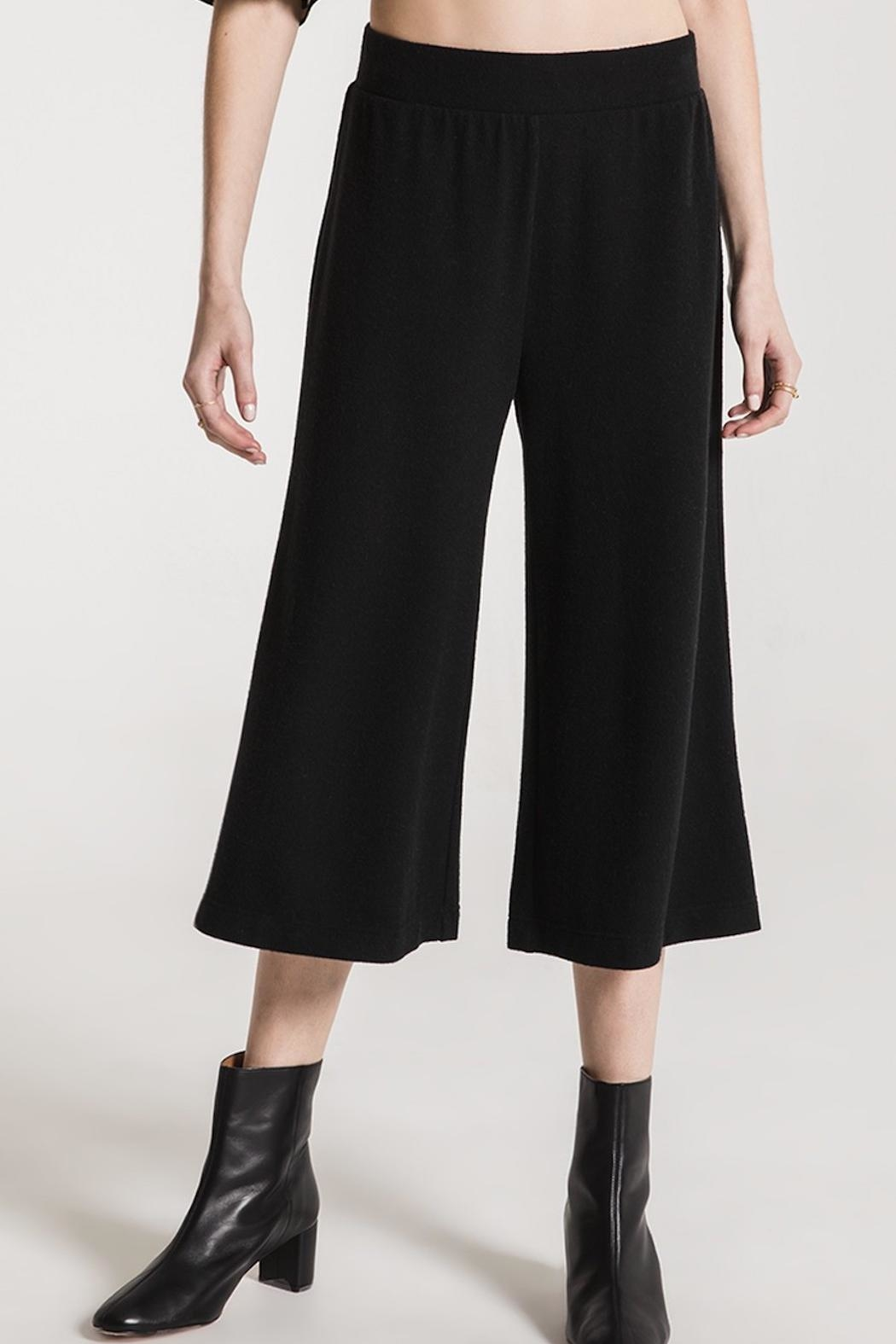z supply Soft Knit Culottes - Side Cropped Image