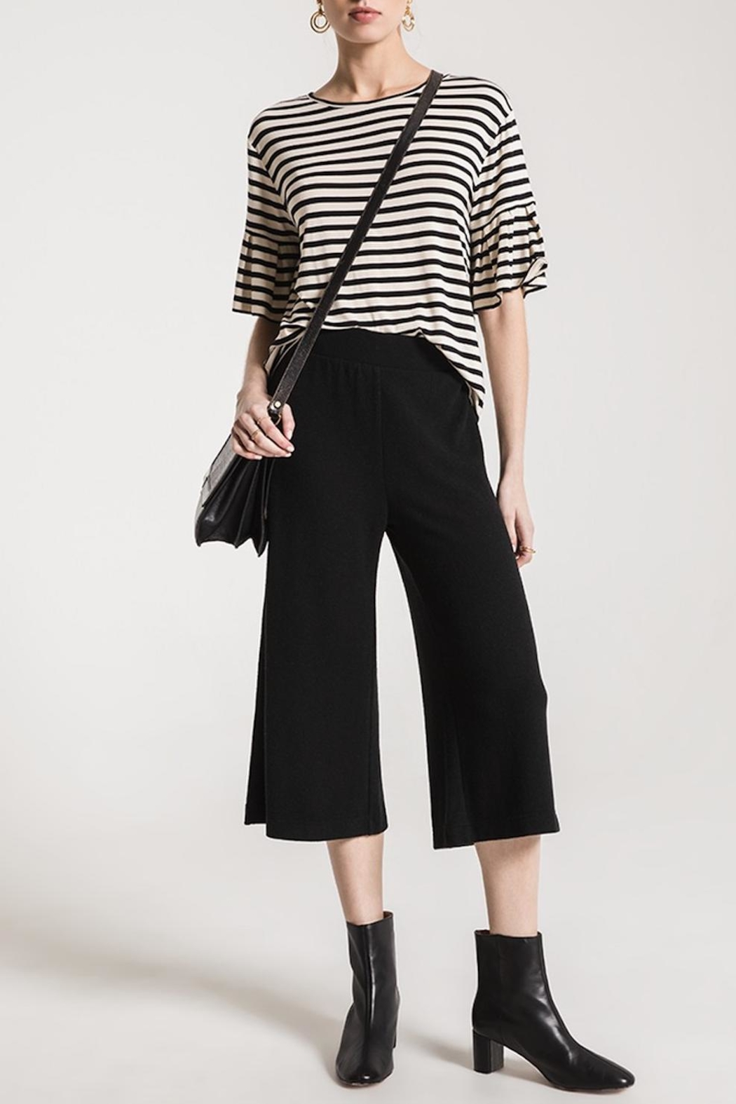 z supply Soft Knit Culottes - Main Image