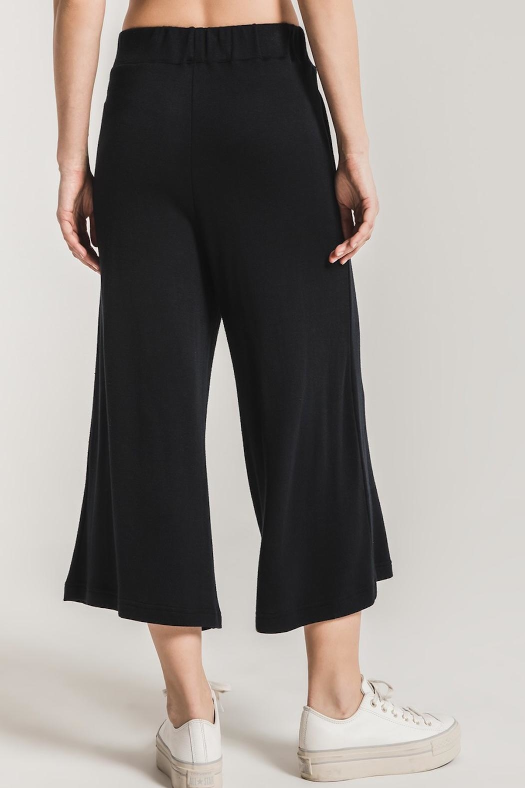 z supply Soft Knit Culottes - Back Cropped Image
