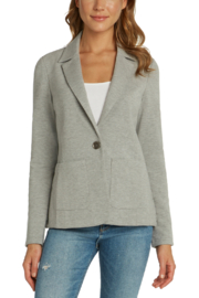 Matty M Soft Knit Notched Collar Blazer - Product Mini Image