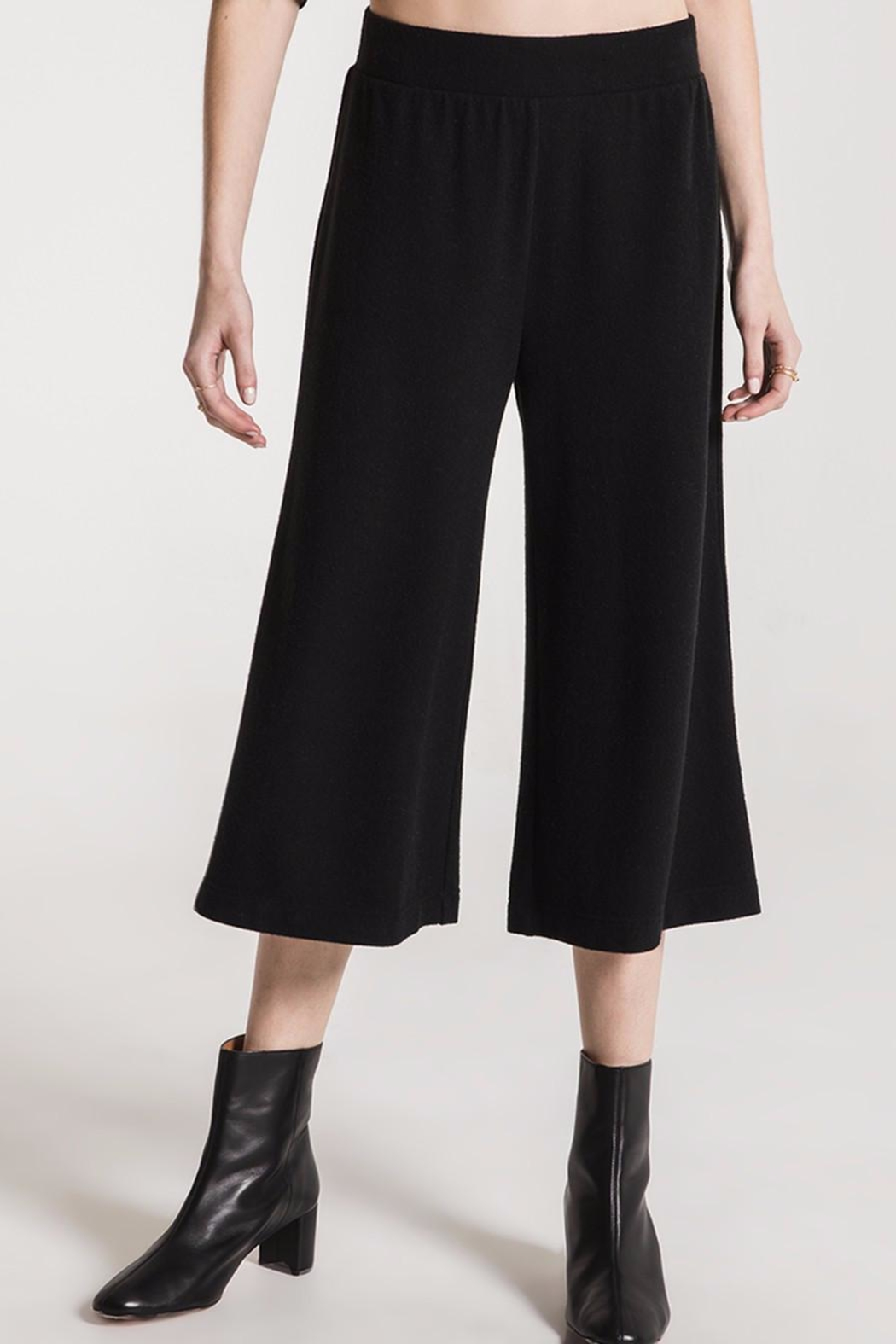 Zsupply Soft-Knit Pullon Culottes - Front Cropped Image