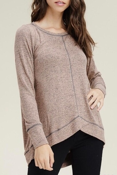LuLu's Boutique Soft Knit Top - Product List Image