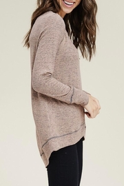 LuLu's Boutique Soft Knit Top - Front full body