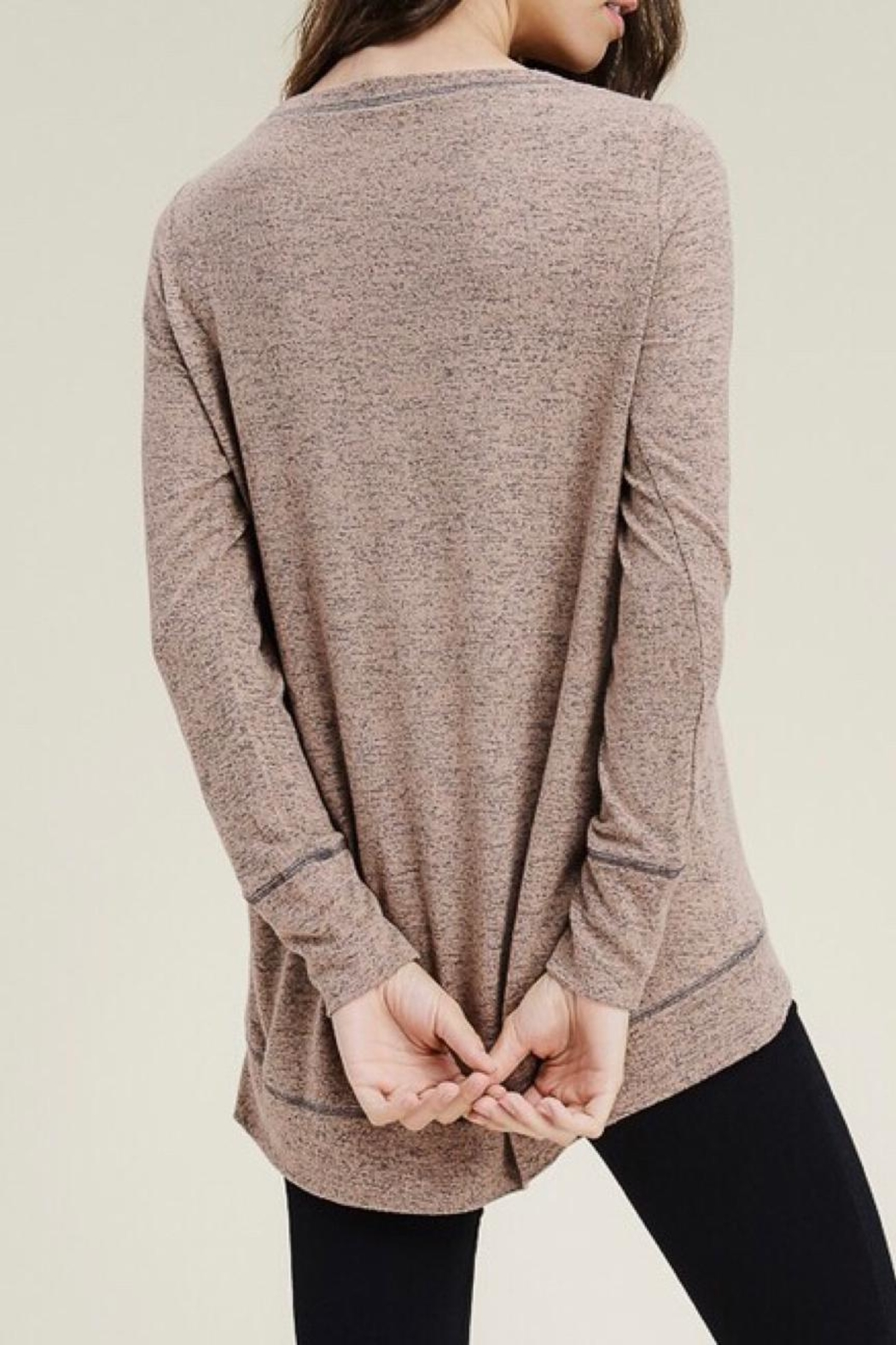 LuLu's Boutique Soft Knit Top - Side Cropped Image