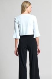 Clara Sunwoo Soft Knit Tulip Cuff Shrug - Side cropped