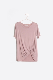 Mod Ref Soft Knotted Tee - Product Mini Image