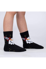 Sock it to me Soft Launch Crew Socks - Toddler - Product Mini Image