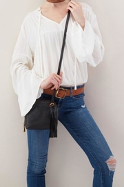 Hobo The Original Soft Leather Crossbody - Side cropped