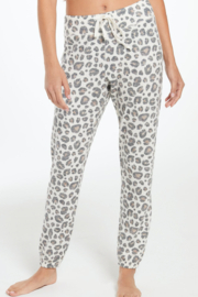 z supply Soft Leopard Joggers - Product Mini Image