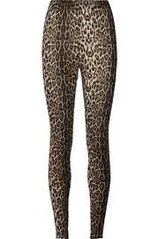 LOLLYS LAUNDRY Soft Leopard Legging - Product Mini Image