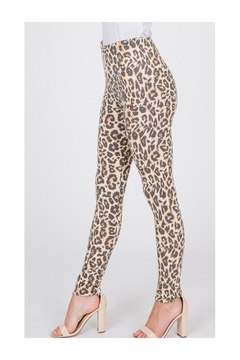 Polly & Esther Soft Leopard Leggings - Product List Image