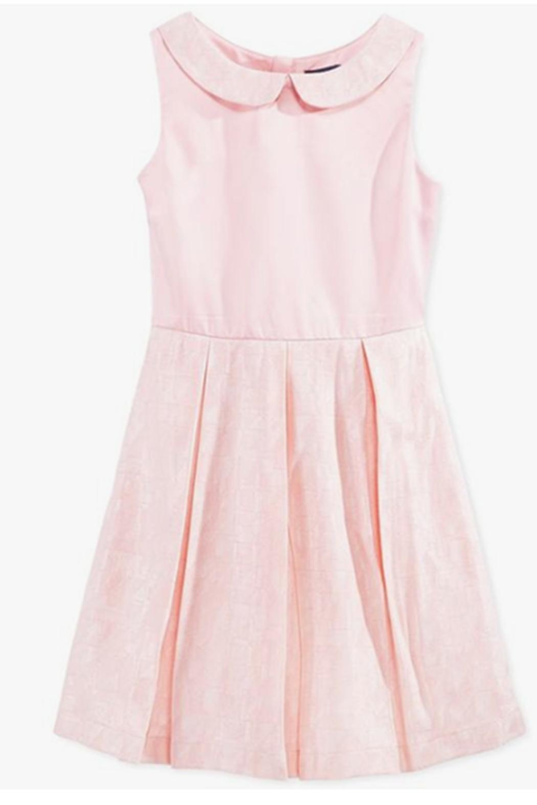 Tommy Hilfiger Soft Melon Dress - Front Cropped Image