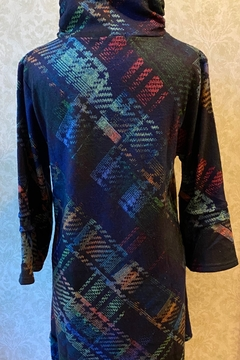 Damee Soft Multicolor high neck tunic - Alternate List Image