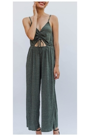 Miss Love Soft Olive Jumpsuit - Product Mini Image