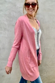 Dreamers Soft Pink Cardigan Sweater - Product Mini Image