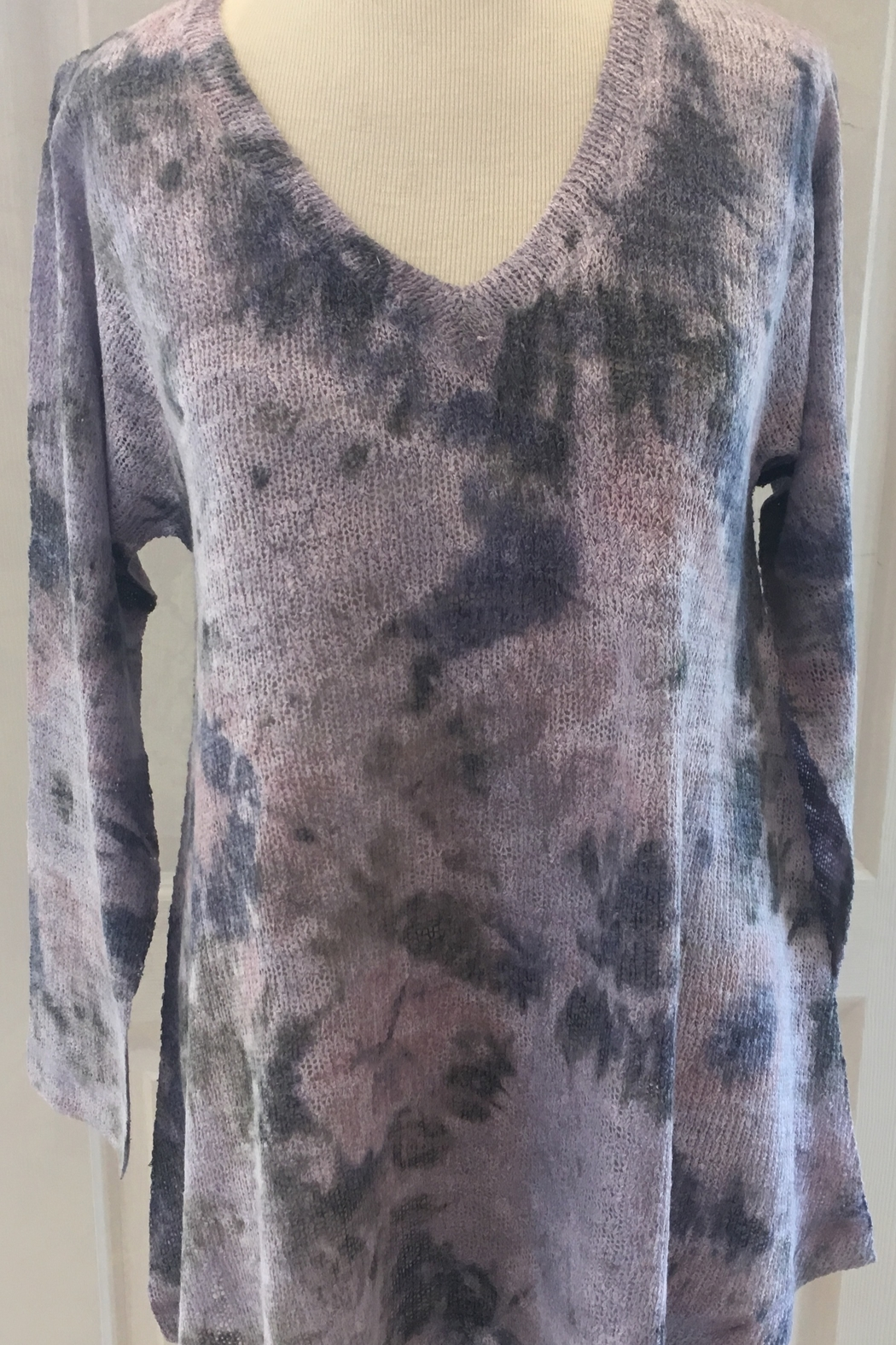 Nally& Millie Soft pink floral tunic - Main Image