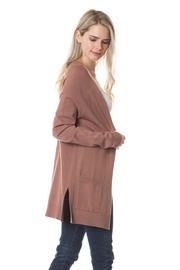 Love Tree Soft Pocket Cardigan - Product Mini Image
