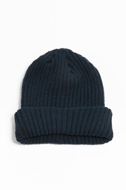 Look by M Soft Ribbed Beenie - Product Mini Image