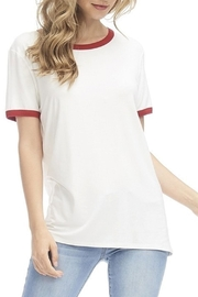 Zutter Soft Ringer Tee - Product Mini Image