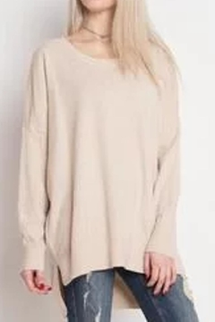 Shoptiques Product: Soft Round-Neck Sweater
