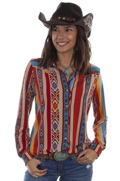 Scully Soft Serape Button-Up - Product List Image