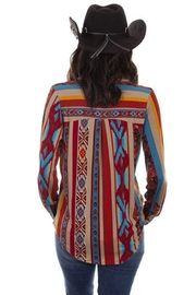 Scully Soft Serape Button-Up - Front full body