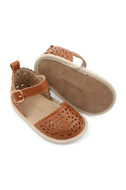 Consciously Baby Soft Sole Leather  Sandal Phuket Formentera - Back cropped