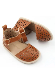 Consciously Baby Soft Sole Leather  Sandal Phuket Formentera - Front cropped