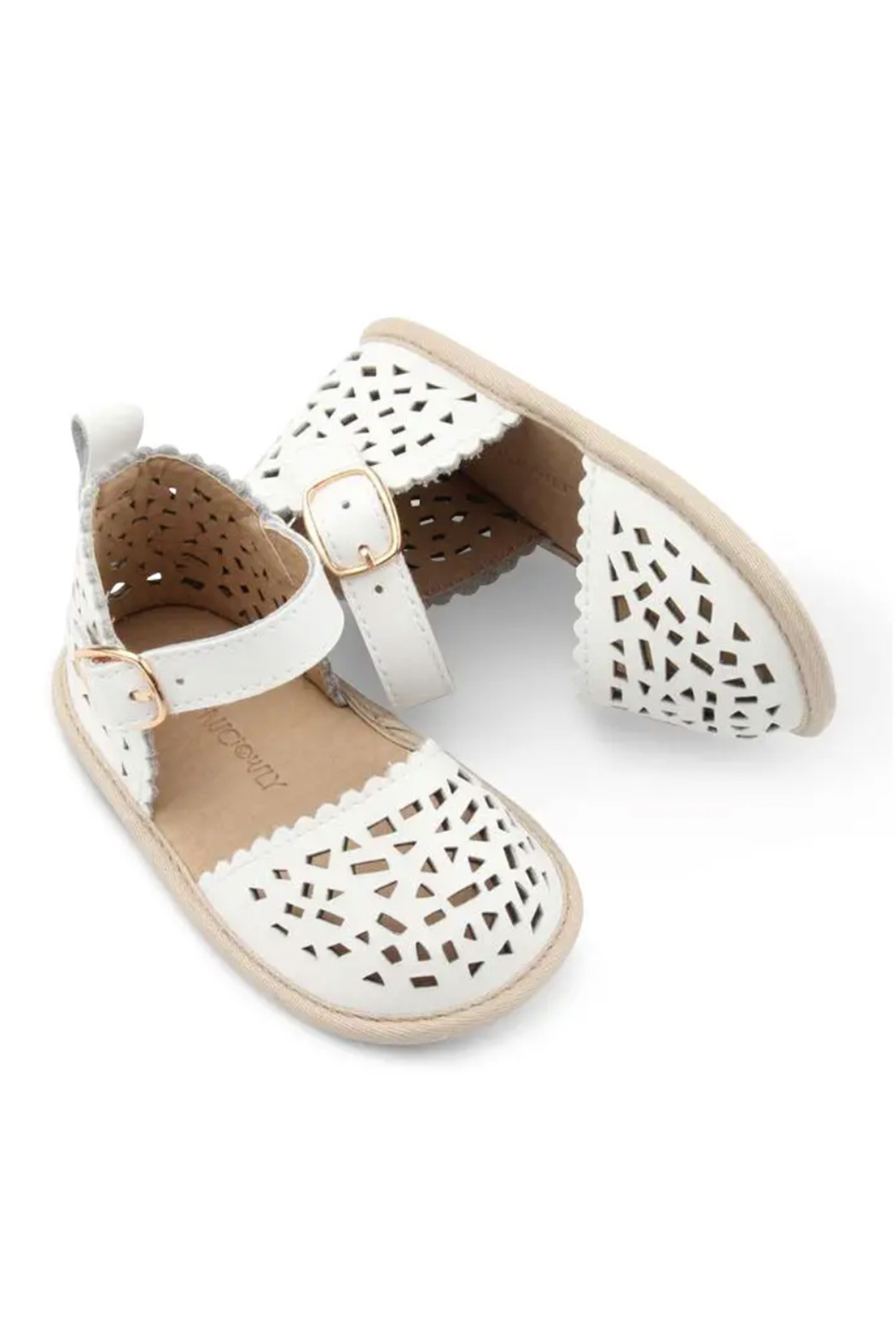 Consciously Baby Soft Sole Leather  Sandal Phuket Formentera - Front Cropped Image