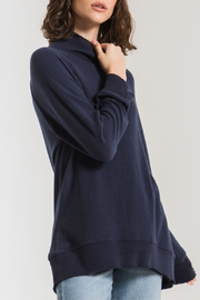 z supply Soft Spun Mock Neck Pullover - Product Mini Image