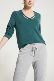 z supply Soft-Spun Strappy Sweater - Product Mini Image