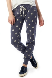 Alternative Apparel Soft Star Joggers - Front cropped
