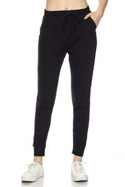 New Mix Soft Stripe Jogger - Front full body