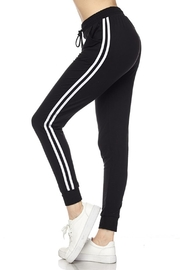 New Mix Soft Stripe Jogger - Front cropped