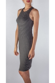 Final Touch Soft Striped Bodycon - Side cropped