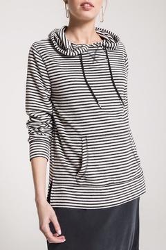 Shoptiques Product: Soft Striped Hoodie